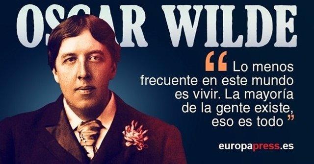 Se cumplen 164 años del nacimiento de Oscar Wilde