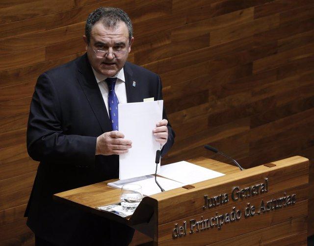 Isaac Pola, consejero de Empleo del Gobierno asturiano