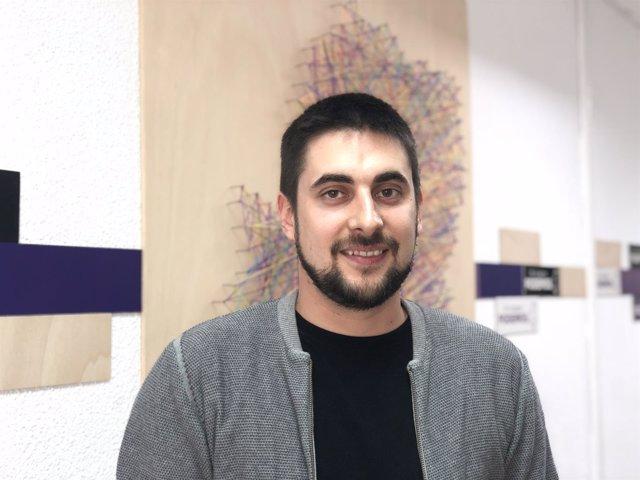 Carlos Arroyos, secretario de Organización de Podemos Aragón