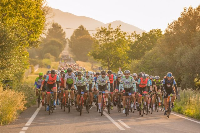 Marcha cicloturista Mallorca 312