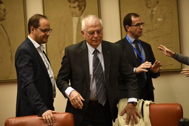 Comparecencia del ministro de Exteriores, Josep Borrell, en el Congreso