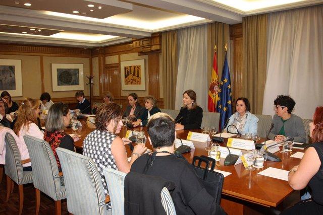 Reunión del Ministerio de Sanidad con la Plataforma Libres de Essure