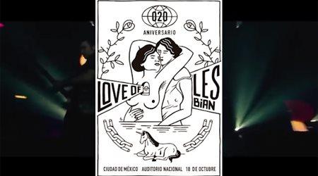 Love of Lesbian cierra la gira '20 años' este jueves en México