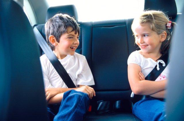 Cinturón de seguridad en coche