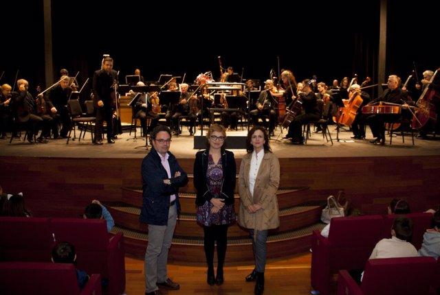 Ruz (centro), en el Gran Teatro