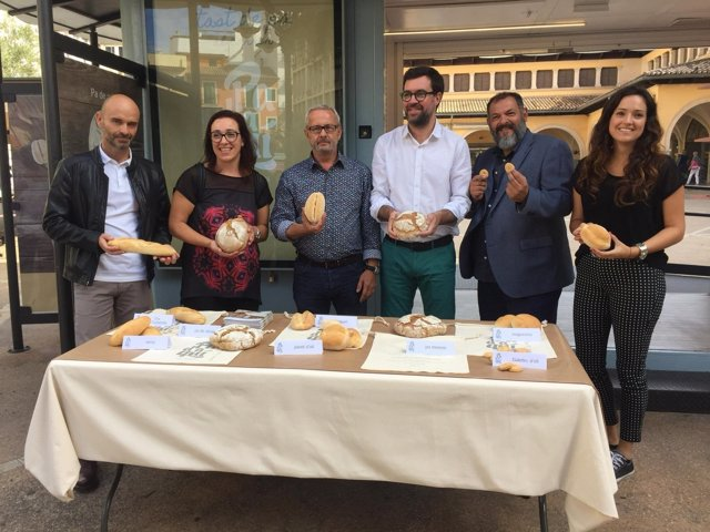 Muestra de pan moreno en Palma