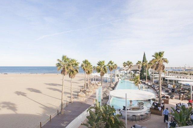 Enclave turístico en València
