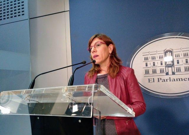 La portavoz adjunta de Podemos, Laura Camargo