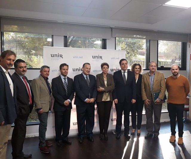 El consejero de Educación, Alberto Galiana, participa en jornada UNIR