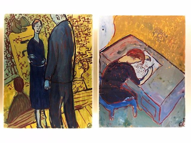 Exposición dedicada a Charlotte Salomon en Barcelona