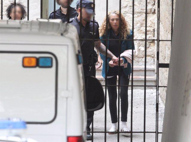 María Concepción MV, conocida como Viuda negra de Alicante, declara en los juzga