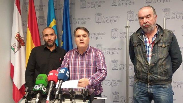 REPRESENTANTES DE LA ASOCIACIÓN SINDICAL INDEPENDIENTE DE EMTUSA DE GIJÓN