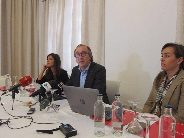 Fernando Candela, en rueda de prensa