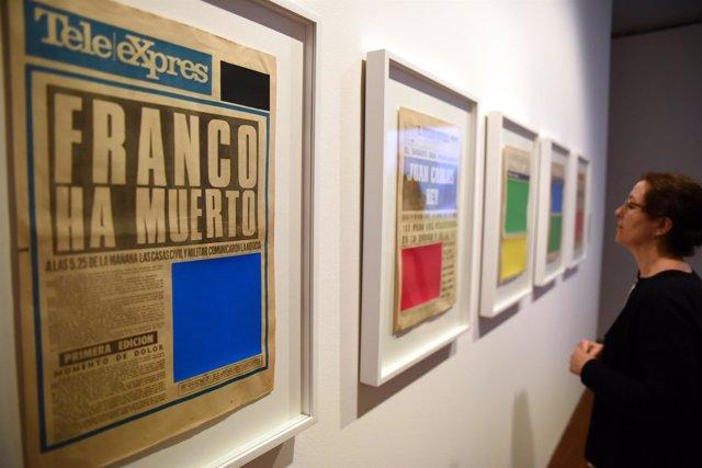 Exposición 'Un campo oscuro' en el Centro Guerrero de la Diputación