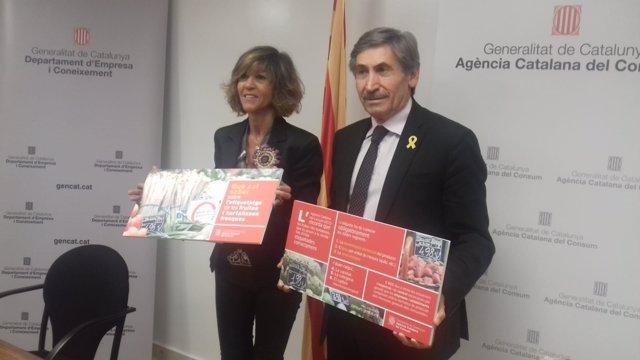 Elisabeth Abad y Ramon Alturo