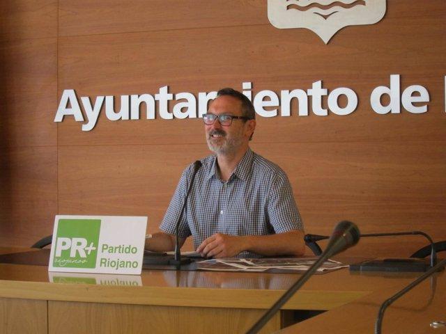 Rubén Antoñanzas, momentos previos a la rueda de prensa