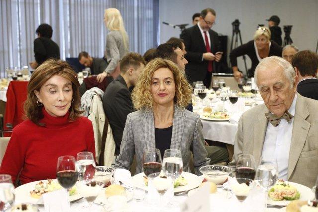 Almuerzo de Metitxell Batet, ministra de Política Territorial y Función Pública,