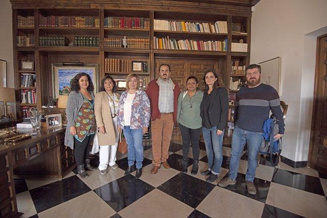 Una delegación de El Salvador visita la Diputación de Cáceres