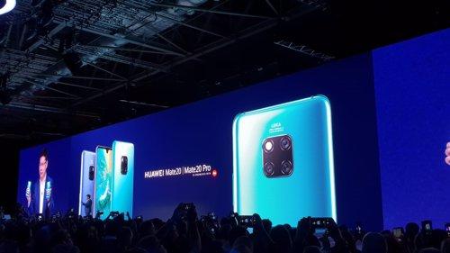 Presentación de la serie Huawei Mate 20 en Londres