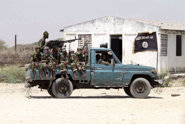 Milicianos de Al Shabaab