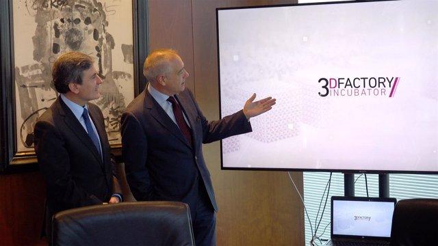 El secretario de Estado Pedro Saura y Pere Navarro (CZFB)