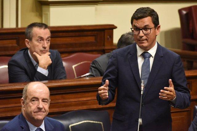 Pablo Rodríguez en el Pleno