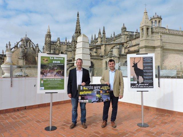Alcalde La Puebla de los Infantes presenta ofertas turísticas de su municipio