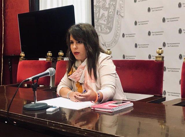 La portavoz adjunta de Ciudadanos, Lorena Rodríguez