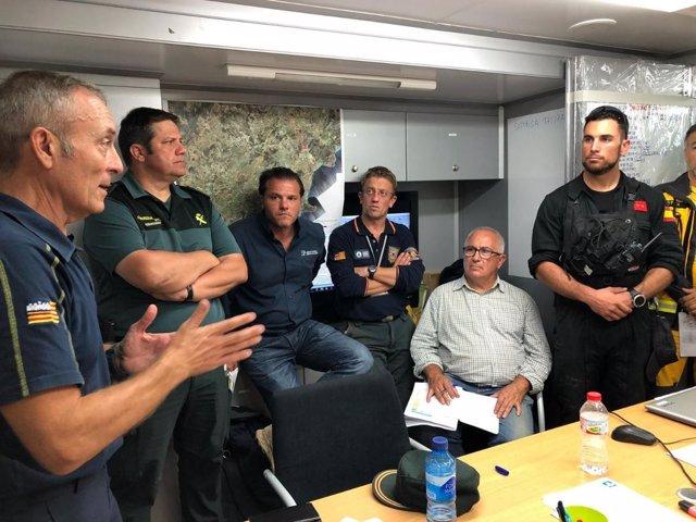 Operativo de búsqueda del menor desaparecido en Mallorca
