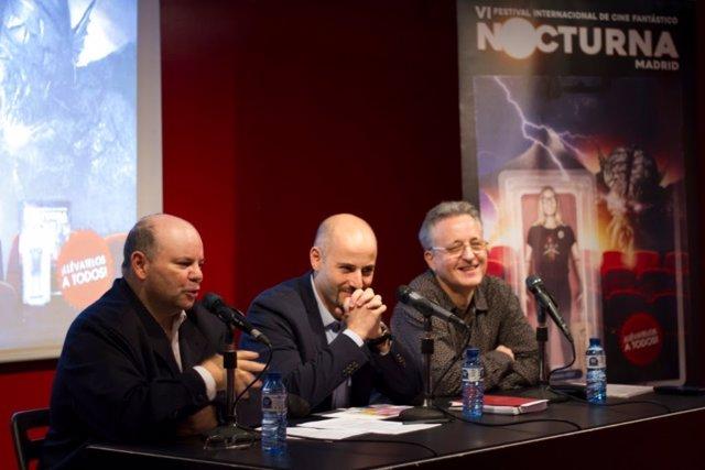Rueda de prensa de presentación de Nocturna Madrid