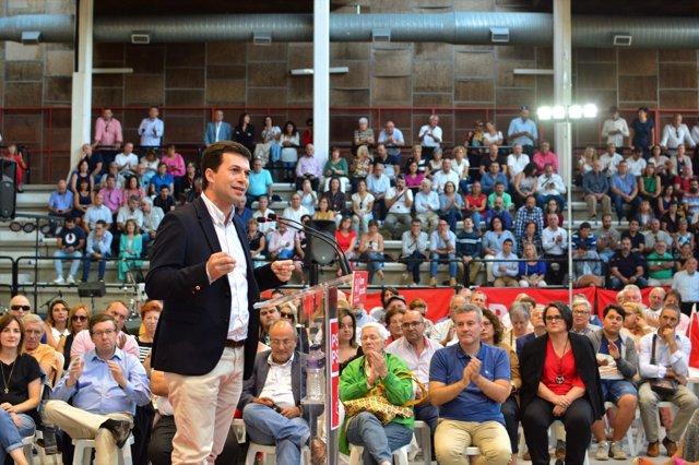 Gonzalo Caballero, secretario xeral del PSdeG