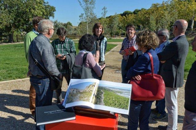 "Presentación del libro ""Zaragoza Natural, un tesoro por descubrir""."