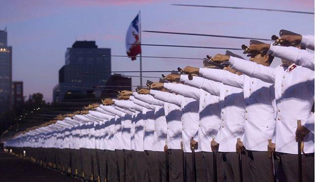 Alféreces de la Escuela Militar de Chile juran como oficiales