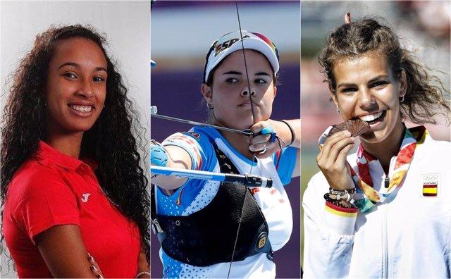 María Vicente Elia Canales Carla García Juegos Olímpicos Juventud