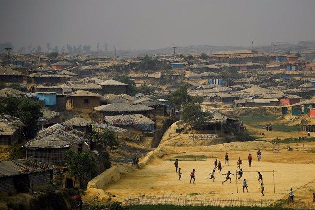 Campamento de refugiados rohingyas
