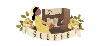 El 'doodle' que recuerda a Chiquinha Gonzaga, la música brasileña que rompió barreras como mujer y como artista