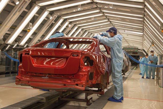 Producción de Volvo en China