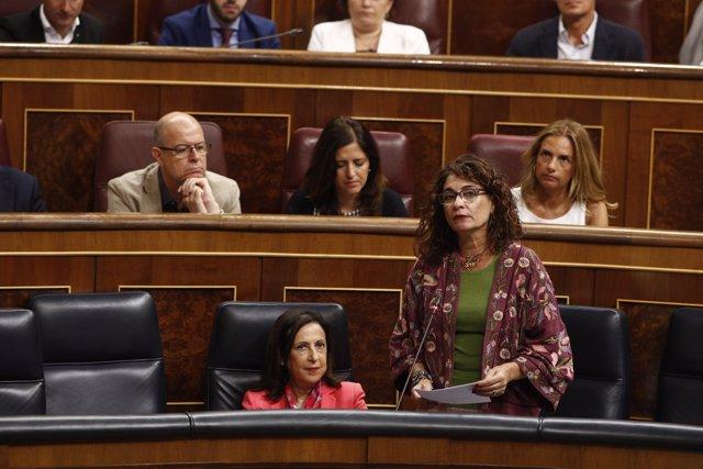 Sessió de control al Govern en el Congrés