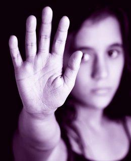 Campaña contra la Violencia de Género (mano)
