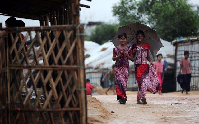 Las niñas y las jóvenes, principales víctimas de la trata en los campamentos de refugiados rohingyas