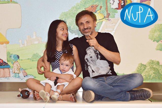 José Mota con miembros de NUPA