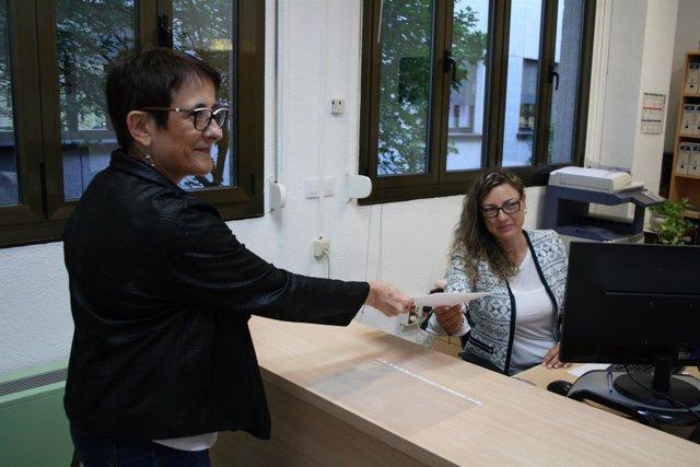 Marisa González presenta su candidatura al Rectorado de la UEx