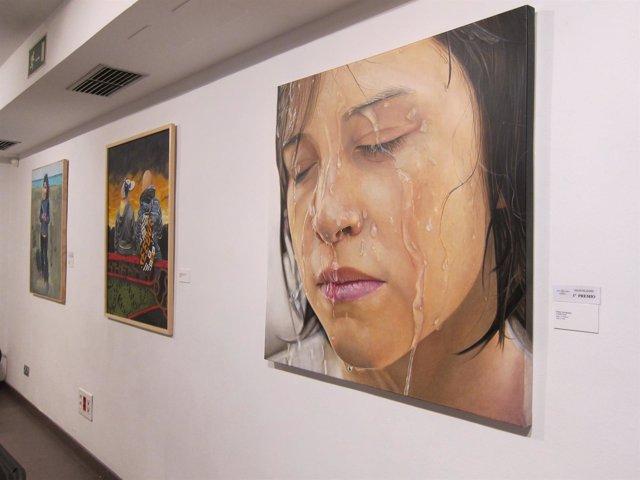 Valladolid.- 'Expresión' de Helen Fernández,ganadora del Salón de Otoño 17-10-18