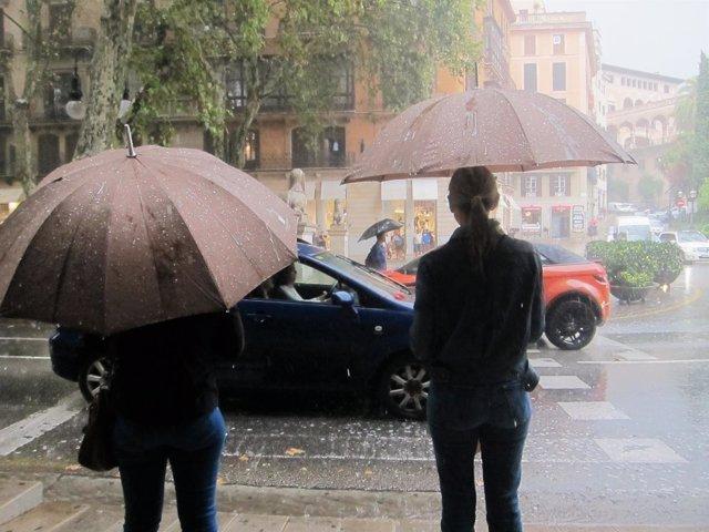 Emergencias declara el IG0 del Meteobal por lluvias en Mallorca y estudia las medidas a tomar
