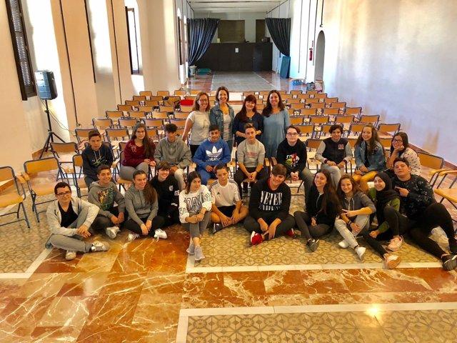Taller del Código Joven celebrado en Jerez