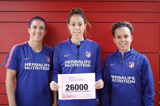 Amanda Sampedro, Silvia Meseguer y Lola Gallardo