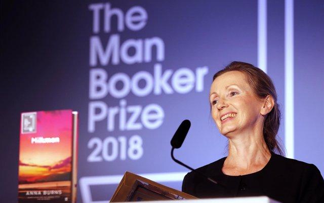 Anna Burns gana el Man Booker con 'Milkman'
