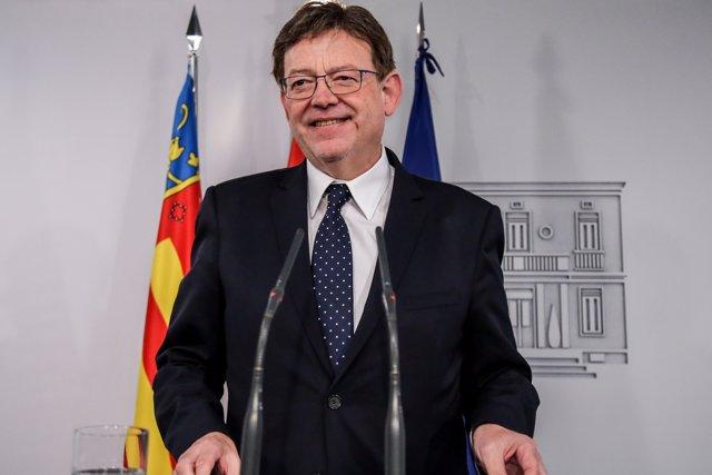 Ximo Puig, en La Moncloa  (Arxiu)