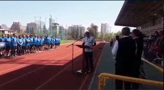 Ceremonia en Escuela Militar donde se rindió homenaje a Miguel Krassnof
