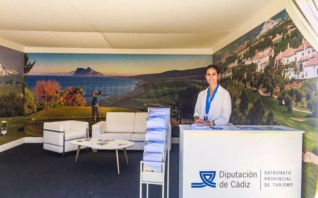 Diputación de Cádiz promociona la oferta de golf de la provincia en Andalucía Valderrama Máster
